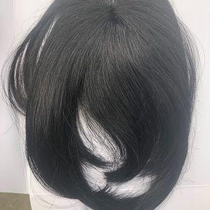 100% human hair Black bangs